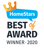 HomeStars Best of 2020 Winner