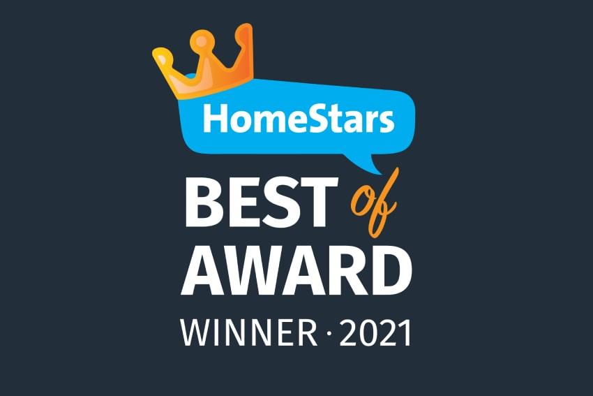 Homestars Best of Award 2021 Dr HVAC