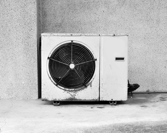 An old Air Conditioner